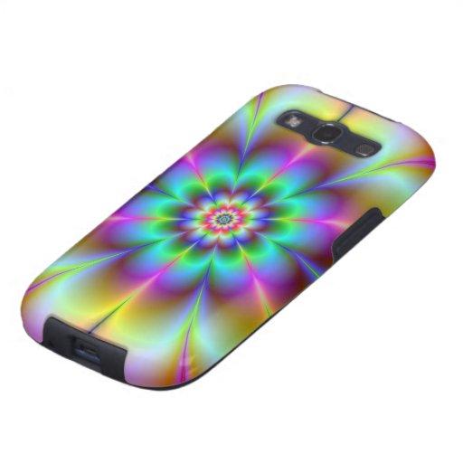 Electric Flower Samsung Galaxy SIII Cover