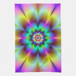 Electric Flower Towel