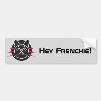 Electric Frenchie! Bumper Sticker