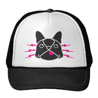 Electric Frenchie Trucker Hat
