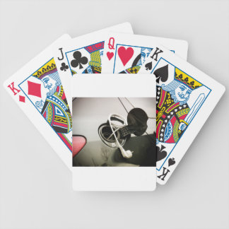 Electric fuel bicycle playing cards