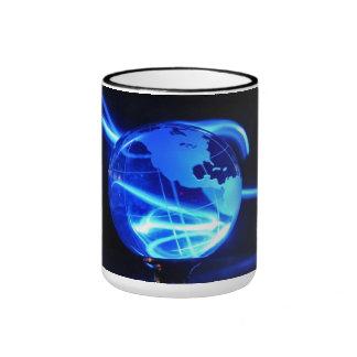 Electric globe - ringer mug