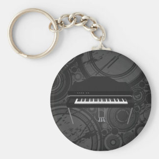 Electric Grand Piano: 3D Model: Keychain