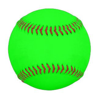 Electric Green Baseball