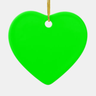Electric Green Ornament