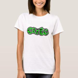 Electric Green Zebra Stripes Animal Print T-Shirt