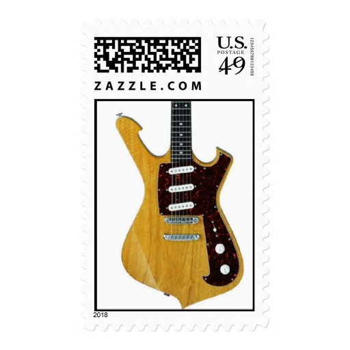 electric guitar 10 postage stamps