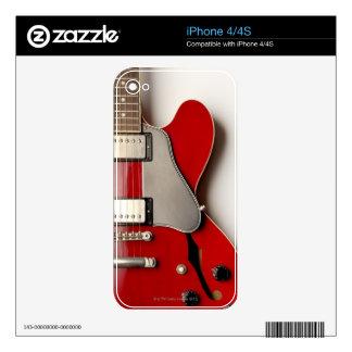 Electric Guitar 12 iPhone 4 Decal