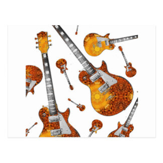 Electric Guitar 12.jpg Postcard