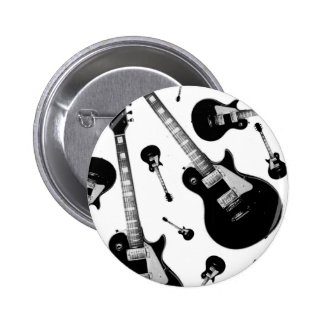 Electric Guitar 2 Inch Round Button