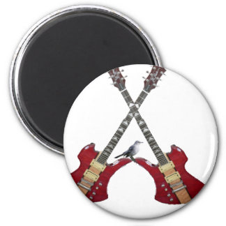 electric guitar 2 inch round magnet