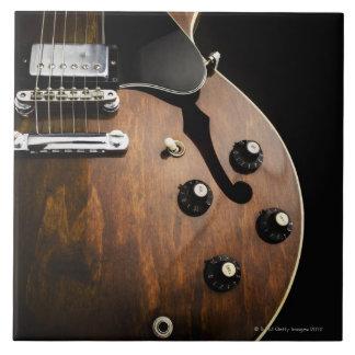 Electric Guitar 3 Large Square Tile