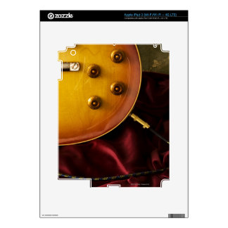 Electric Guitar 6 Decal For iPad 3
