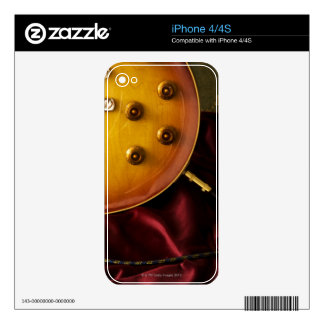 Electric Guitar 6 Decal For iPhone 4