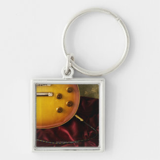 Electric Guitar 6 Keychain