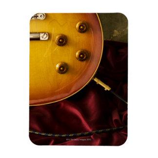 Electric Guitar 6 Rectangular Photo Magnet