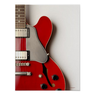 Electric Guitar 7 Poster