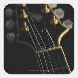 Electric Guitar 8 Square Sticker