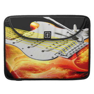 Electric Guitar Art 2 Mac Book Sleeves