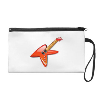 Electric Guitar Wristlet Clutches