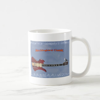 electric guitar bc rich classic white coffee mug