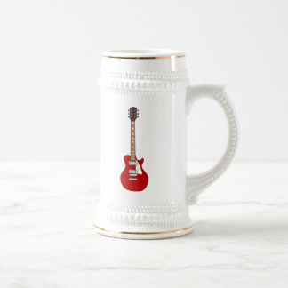 Electric Guitar Beer Stein