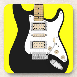 Electric Guitar Beverage Coaster