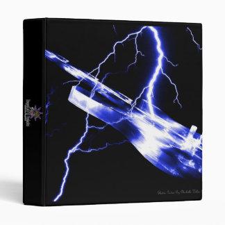 ELECTRIC GUITAR blue binder