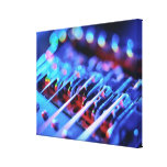 Electric Guitar Bridge Canvas Print