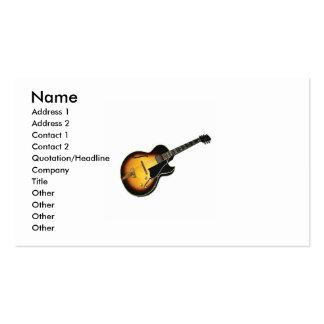 Electric Guitar business Card