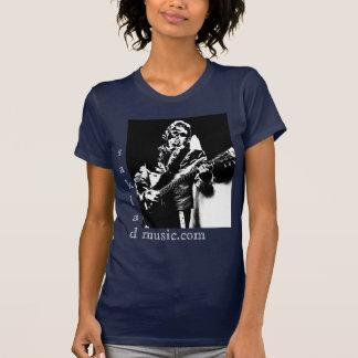 Electric Guitar BW T-Shirt