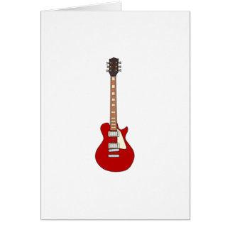 Electric Guitar Card