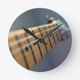 Electric Guitar Round Wall Clock
