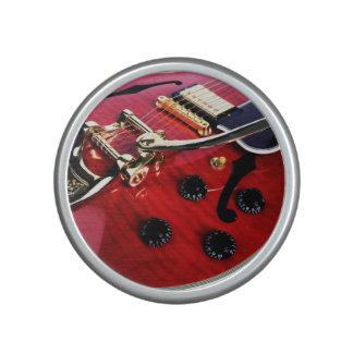 Electric Guitar Closeup Bluetooth Music Speaker