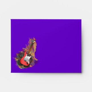 Electric Guitar - custom background envelopes