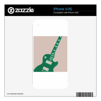Electric Guitar Decal For The iPhone 4S