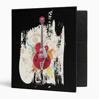 Electric Guitar Design Binder