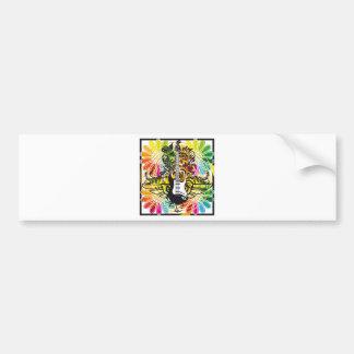 Electric Guitar design Bumper Sticker