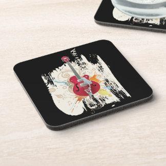 Electric Guitar Design Coaster