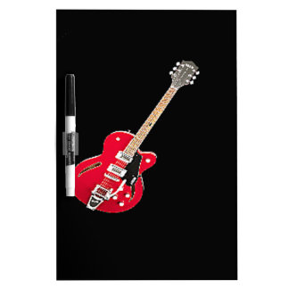 """""""Electric Guitar"""" design gifts and products Dry-Erase Boards"""