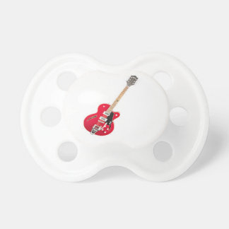 """""""Electric Guitar"""" design gifts and products Pacifier"""