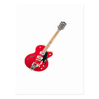"""""""Electric Guitar"""" design gifts and products Postcard"""