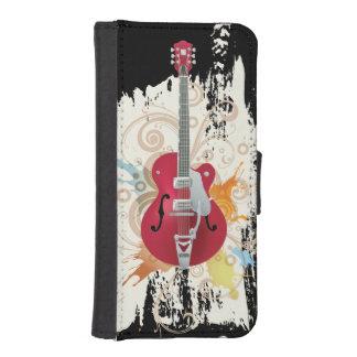 Electric Guitar Design iPhone SE/5/5s Wallet