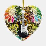 Electric Guitar design Ornaments