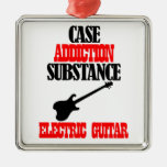 ELECTRIC GUITAR designs Christmas Tree Ornaments