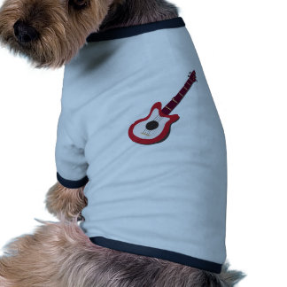 Electric Guitar Pet T Shirt