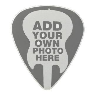 electric-guitar / guitarist photo acetal guitar pick