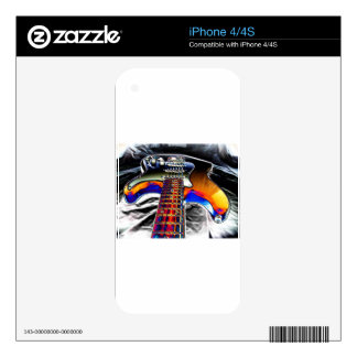 Electric Guitar iPhone 4 Skins