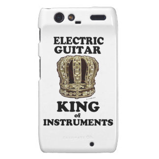 Electric Guitar King of Instruments Droid RAZR Case