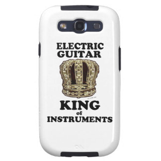 Electric Guitar King of Instruments Samsung Galaxy SIII Covers